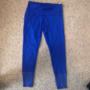 Royal Blue Active Leggings with Pockets